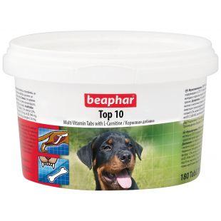 BEAPHAR Top 10 витамины для собак 180 таблетки