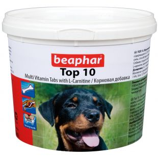 BEAPHAR Top-10 ? üldvitamiinid koertele 1 tk (750 tbl)