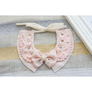 CHEE PET Воротничок с бантиком Paw Couture розовый