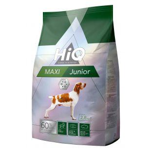 HIQ Kuivtoit koertele Maxi Junior Poultry 2,8 kg