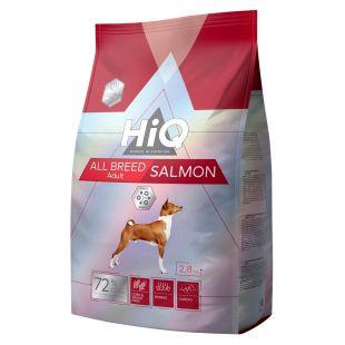HIQ All Breed Salmon kõigi tõugude koeratoit 2.8 kg