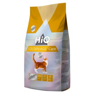 HIQ Golden Age care, täissööt kassidele 6,5 kg