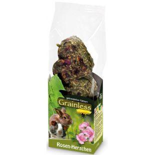 """JR FARM Grainless t""""iends""""""""t n""""rilistele roosiäitega, südamekujuline 105 g"""
