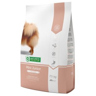 NATURE'S PROTECTION Сухой корм для собак Mini Small breeds Junior 2-12 months Poultry 7,5 кг
