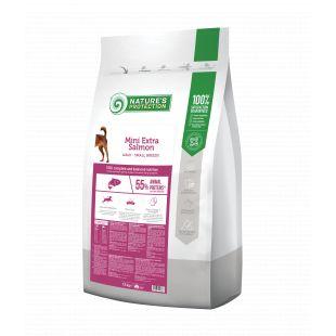 NATURE'S PROTECTION Сухой корм для собак Mini & Small breeds Adult Extra Salmon 7.5 кг