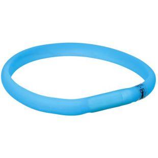 TRIXIE Sinine helkur-kaelarihm silikonist M-L, 50 x 3 cm