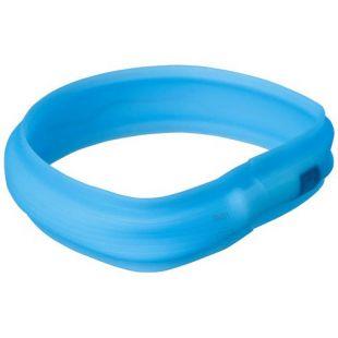 TRIXIE Sinine helkur-kaelarihm silikonist L-XL, 70 x 3 cm