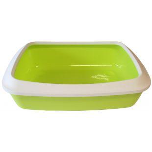 SAVIC Isis туалет для кошек белый/зелёный, 42x31x12.5 см