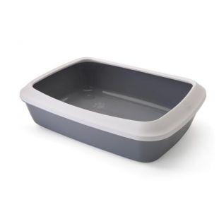SAVIC Isis туалет для кошек белый/серый, 50x37x14 см