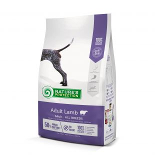 NATURE'S PROTECTION Сухой корм для собак All breeds Adult Lamb 12 кг