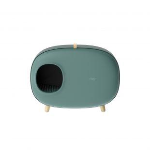 MAKESURE щик для кошачьего туалета зелøный