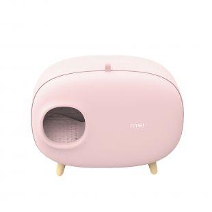 MAKESURE щик для кошачьего туалета розовый
