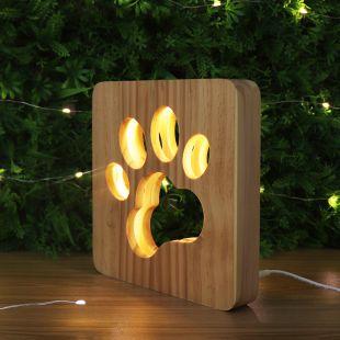 P.LOUNGE Деревянная лампа лапа Лапа