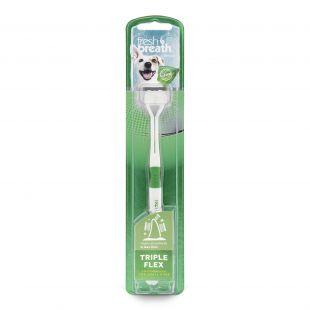 FRESH BREATH зубная щетка для молодых собак белая