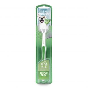 FRESH BREATH зубная щетка для собак белая