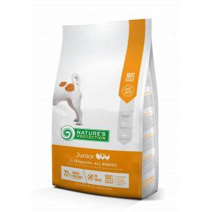 NATURE'S PROTECTION Kuivtoit koertele All breeds Junior 2-12 months Poultry 2 kg