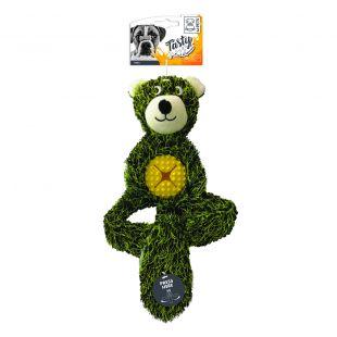 M-PETS Mänguasi NEELS Bear, 38 x 25,5 x 7 cm, roheline