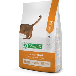 NATURE'S PROTECTION Сухой корм для кошек Indoor Adult 1 year and older Poultry 2 кг