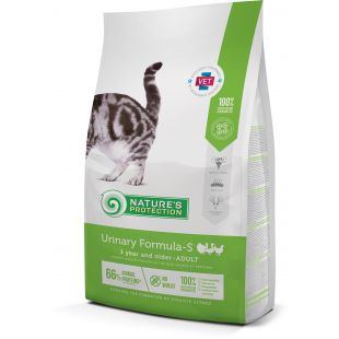 NATURE'S PROTECTION Kuivtoit kassidele Urinary Formula-S Adult 1 year and older Poultry 2 kg
