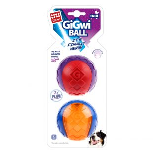 GIGWI Набор игрушек для собак Мячи 2 ед