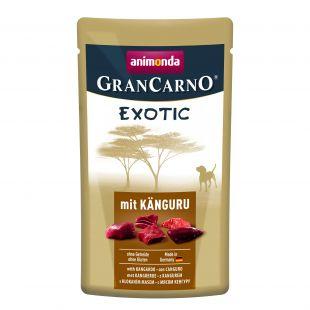 ANIMONDA Grancarno Exotic, konservid täiskasvanud koertele känguruga 125 g