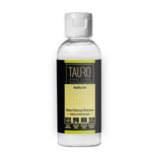 TAURO PRO LINE Healthy Coat deep cleaning shampoo , šampoon koertele ja kassidele 65 ml
