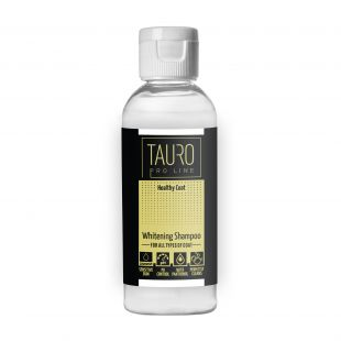 TAURO PRO LINE Healthy Coat Whitening Shampoo , šampoon koertele ja kassidele 65 ml