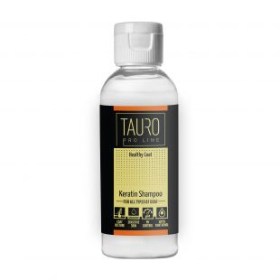 TAURO PRO LINE Healthy Coat KERATIN SHAMPOO , šampoon koertele ja kassidele 65 ml