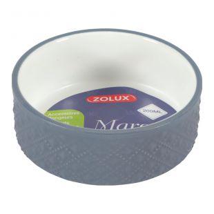 ZOLUX Миска марго для грызунов каменная масса, 200 мл, серая