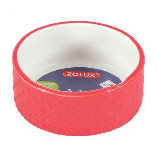 ZOLUX Margot миска для мелких животных каменная масса, 100 мл, красная