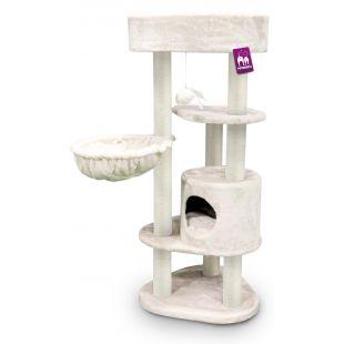 PETREBELS когтеточка для кошек 59x56x134 cm, кремовая