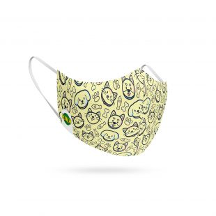 KIKA Многофункциональный шарф-маска для лица, 1 шт.