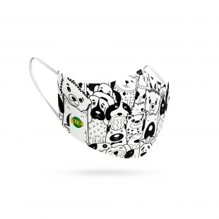 KIKA Защитная многоразовая маска, 1 шт.