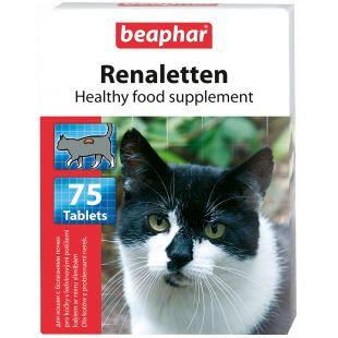 BEAPHAR Renaletten кормовая добавка для кошек, таблетки, 75 шт
