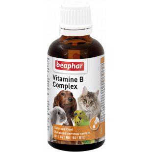 BEAPHAR B-vitamiinide kompleks kassidele ja koertele 50 ml