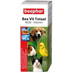BEAPHAR Vit Total Vitamiinitilgad kassidele ja koertele, 50 ml