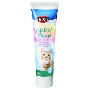 TRIXIE кормовая добавка для кошек - лакомства с солодом и сыром 100 г