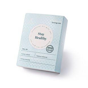 A'SCENTUALS Herbal Therapy eeterlike õlide komplekt rulliga Stress Relief, Super Microbe Shield, Immune Booster, 3x10 ml