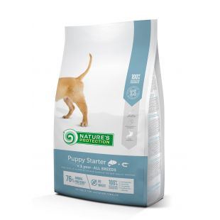NATURE'S PROTECTION Puppy Starter All breeds Up to 1 year Salmon with krill kutsikatoit 2 kg