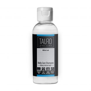TAURO PRO LINE White Coat Daily Care Shampoo , šampoon koertele ja kassidele 65 ml