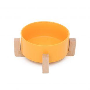 HOOPET Kauss koertele keraamiline, kollane