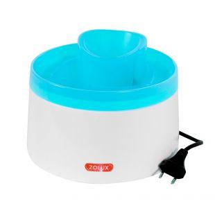 ZOLUX Миска для воды для кошек Фонтан 2 л, белая