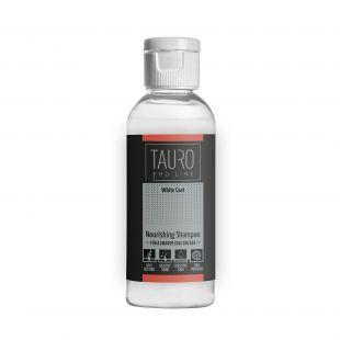 TAURO PRO LINE White Coat Nourishing Shampoo , šampoon koertele ja kassidele 65 ml