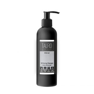 TAURO PRO LINE White Coat Whitening Shampoo, шампунь для собак и кошек 250 мл