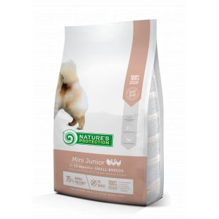 NATURE'S PROTECTION Сухой корм для собак Mini Small breeds Junior 2-12 months Poultry 2 кг