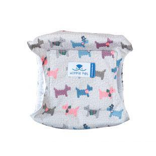HIPPIE PET Многоразовые подгузники для собак (кобелей) щенки, размер XXL