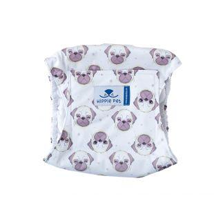 HIPPIE PET Многоразовые подгузники для собак (кобелей) бульдоги, размер L