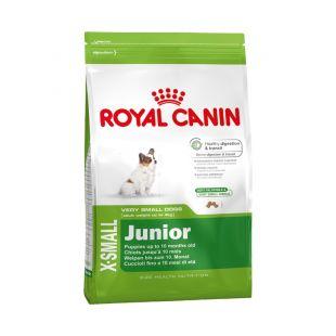ROYAL CANIN Kuivtoit koertele X-small Junior 1,5 kg