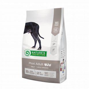 NATURE'S PROTECTION Сухой корм для собак Maxi Large breeds Adult Poultry 4 кг