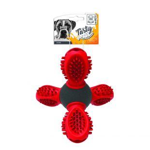 M-PETS mänguasi SATURN oranž, 14 x 13 x 12 cm